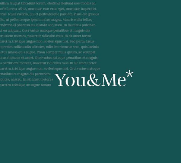 Libro su misura YOU&ME