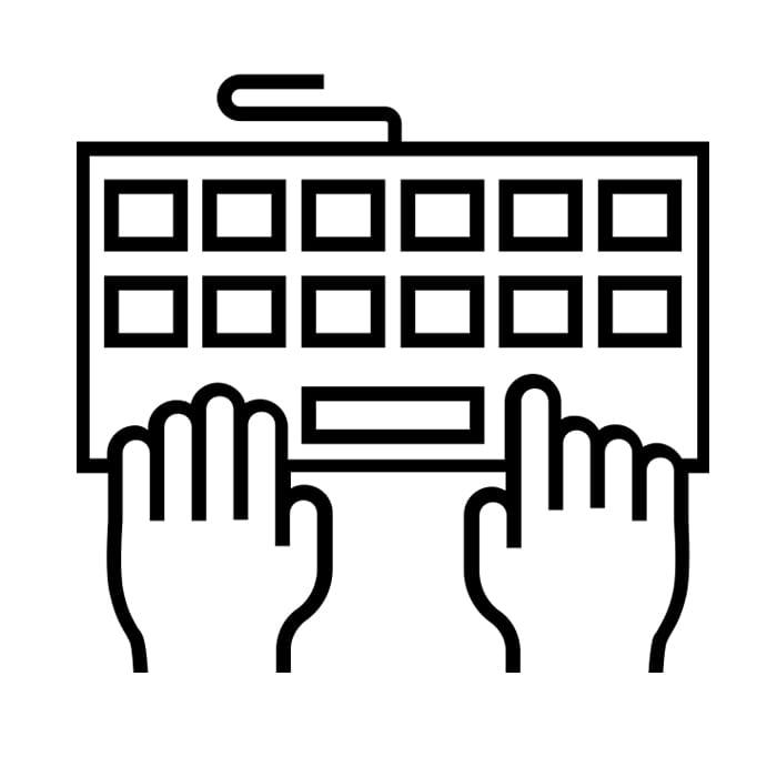 Scrivere-tastiera